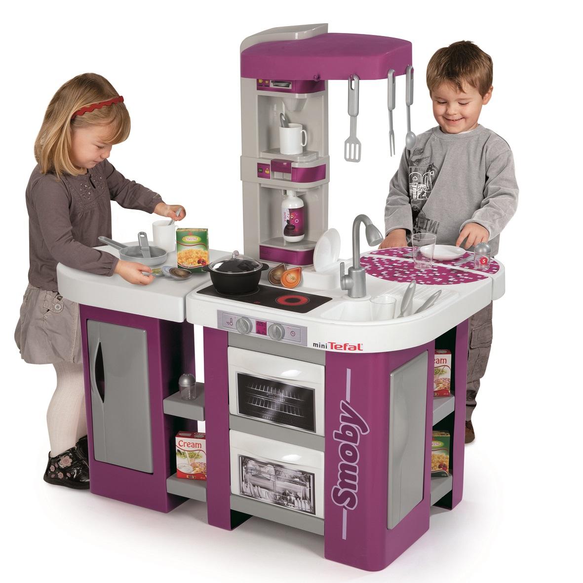 Tefal Studio XL Детская электронная кухня от Smoby, 24129   -> Kuchnie Dla Dzieci Mini Tefal
