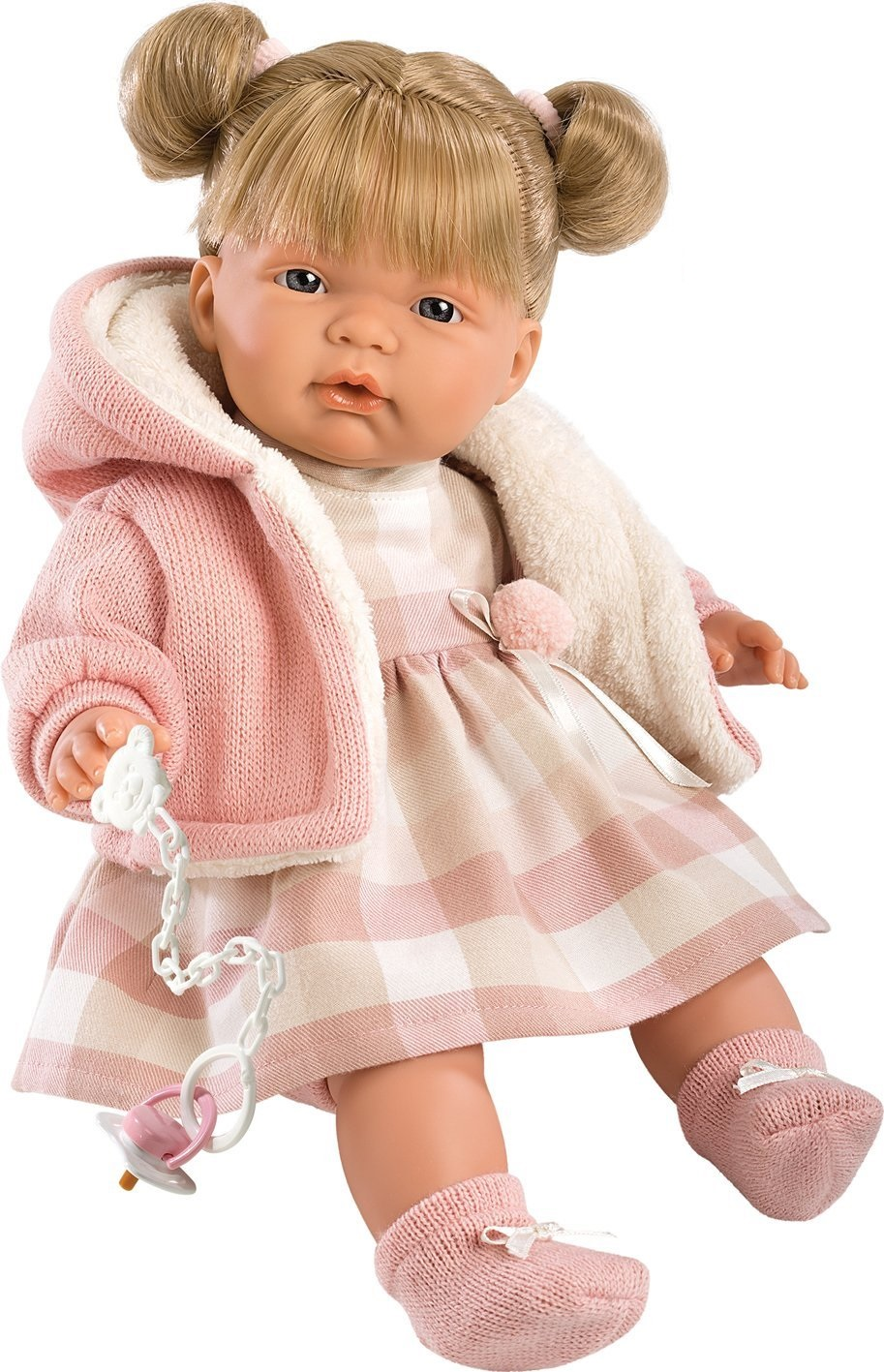 Кукла Люсия, озвученная, 38 см.Испанские куклы Llorens Juan, S.L.<br>Кукла Люсия, озвученная, 38 см.<br>