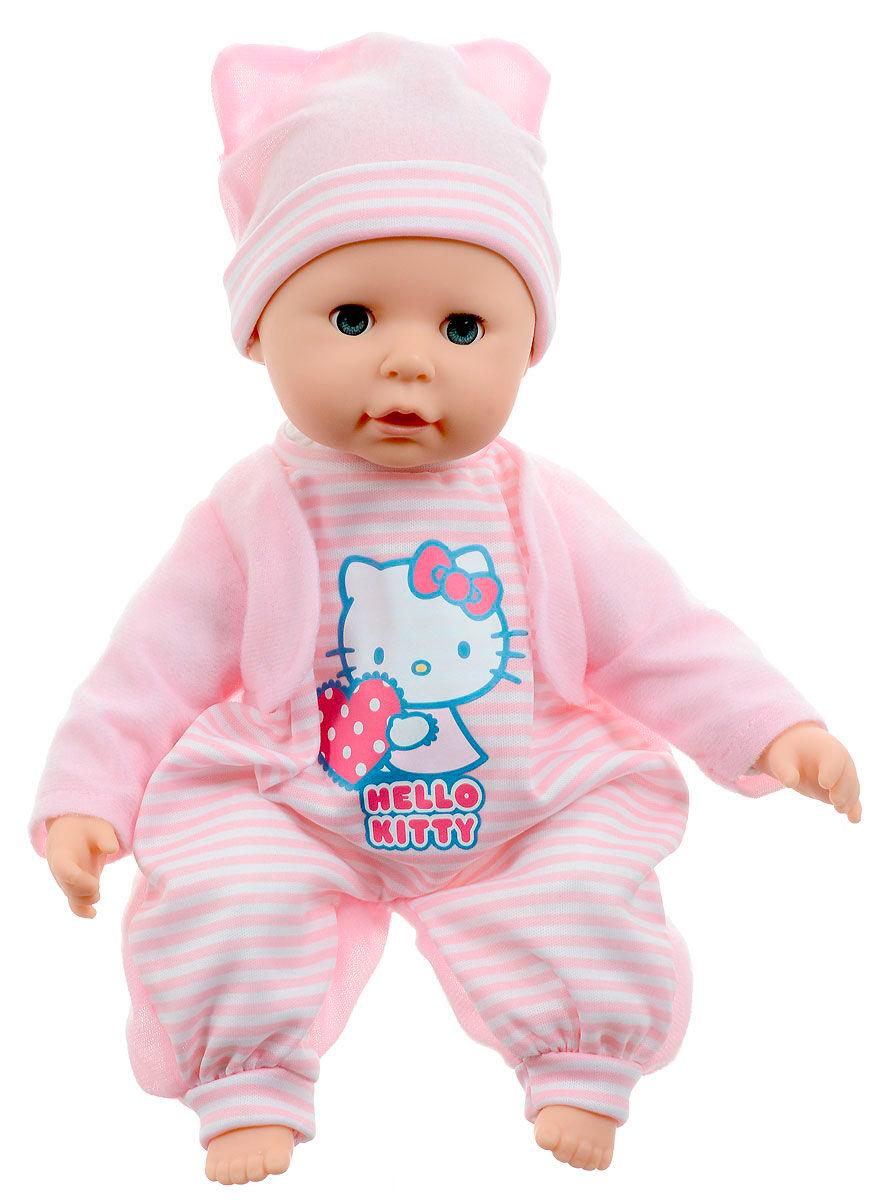 Пупс, 35 см., 30 звуков, пьет и писает, из серии Hello KittyКуклы Карапуз<br>Пупс, 35 см., 30 звуков, пьет и писает, из серии Hello Kitty<br>