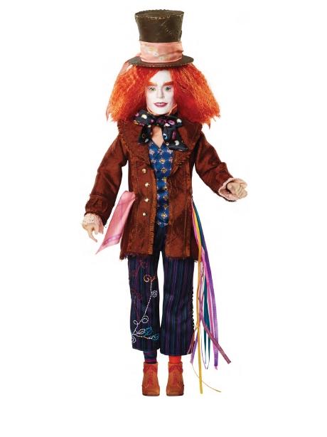 Кукла коллекционная «Сумасшедший Шляпник» серия Делюкс, 29 см.Коллекционные куклы<br>Кукла коллекционная «Сумасшедший Шляпник» серия Делюкс, 29 см.<br>