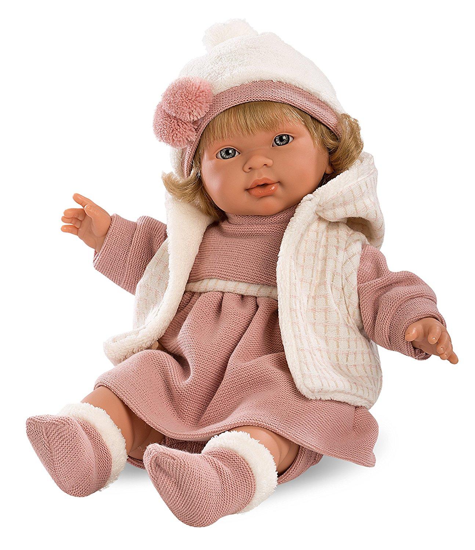 Кукла Марина, озвученная, 42 см.Испанские куклы Llorens Juan, S.L.<br>Кукла Марина, озвученная, 42 см.<br>