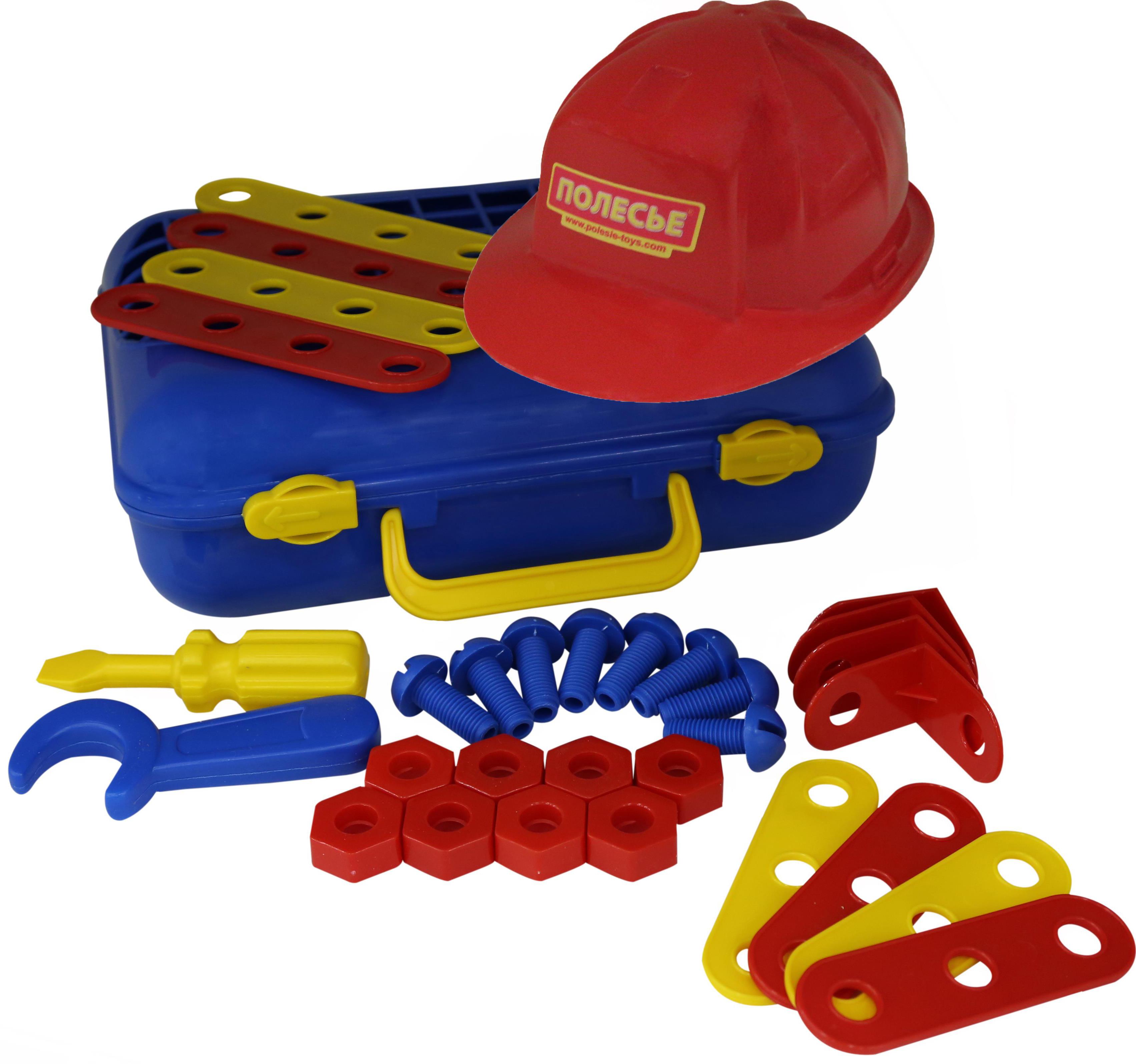 Набор - Механик 2, 31 элемент, в чемоданеДетские мастерские, инструменты<br>Набор - Механик 2, 31 элемент, в чемодане<br>
