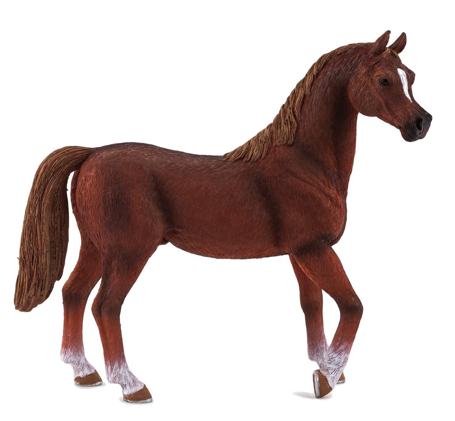 Фигурка - Жеребец Арабский каштановыйЛошади (Horse)<br>Фигурка - Жеребец Арабский каштановый<br>