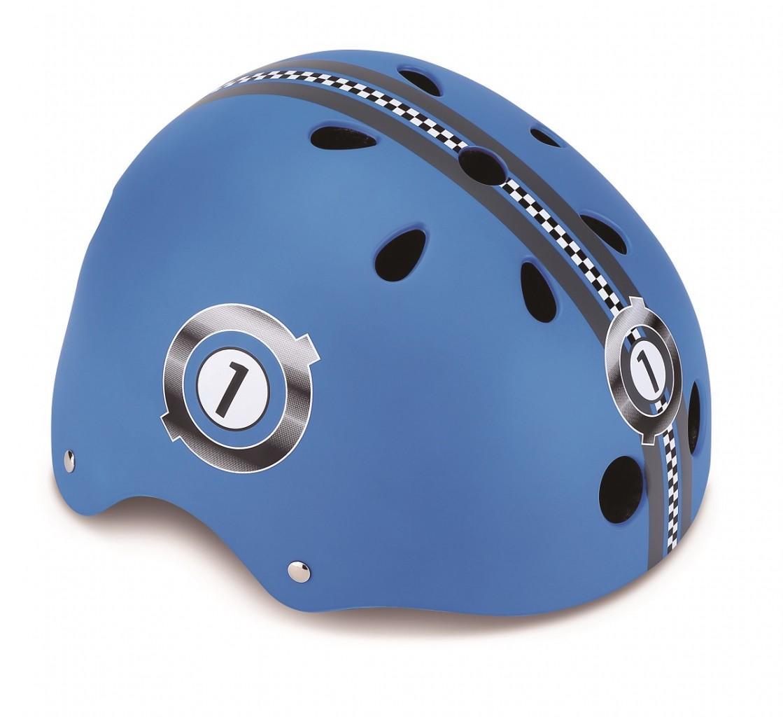 Купить Шлем Printed Junior размер XXS/XS 48-51 см., синий, Globber