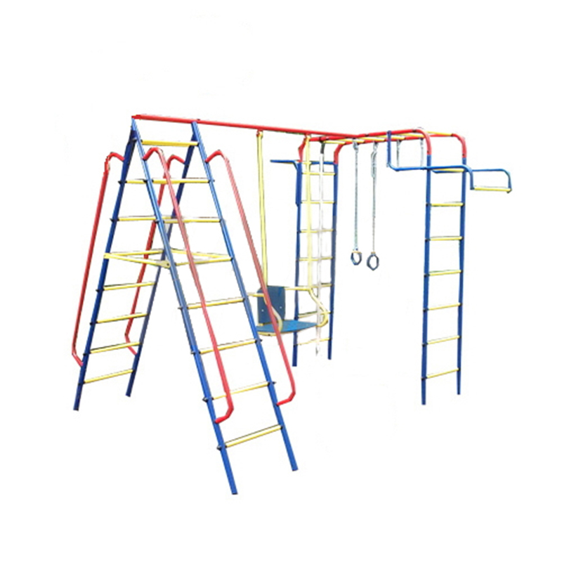 Детский спортивный комплекс Пионер-дачный ТК-2, с металлическими качелями