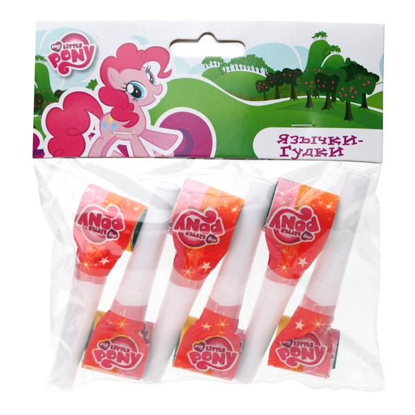 Набор из 6 язычков-гудков «Моя маленькая пони»My Little Pony<br>Набор из 6 язычков-гудков «Моя маленькая пони»<br>