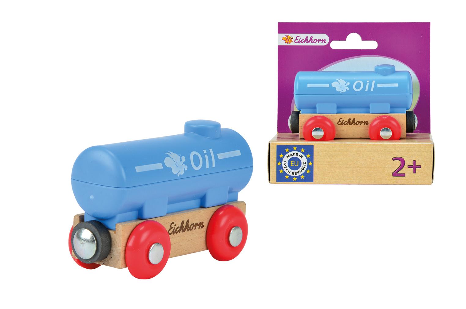 Игровой набор Вагон танкерЖелезная дорога для малышей<br>Игровой набор Вагон танкер<br>