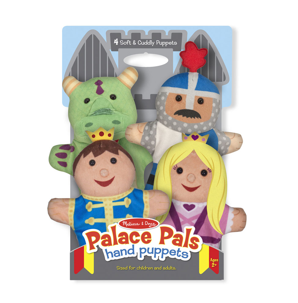 Плюшевые куклы на руку- ЗамокДетский кукольный театр <br>Плюшевые куклы на руку- Замок<br>