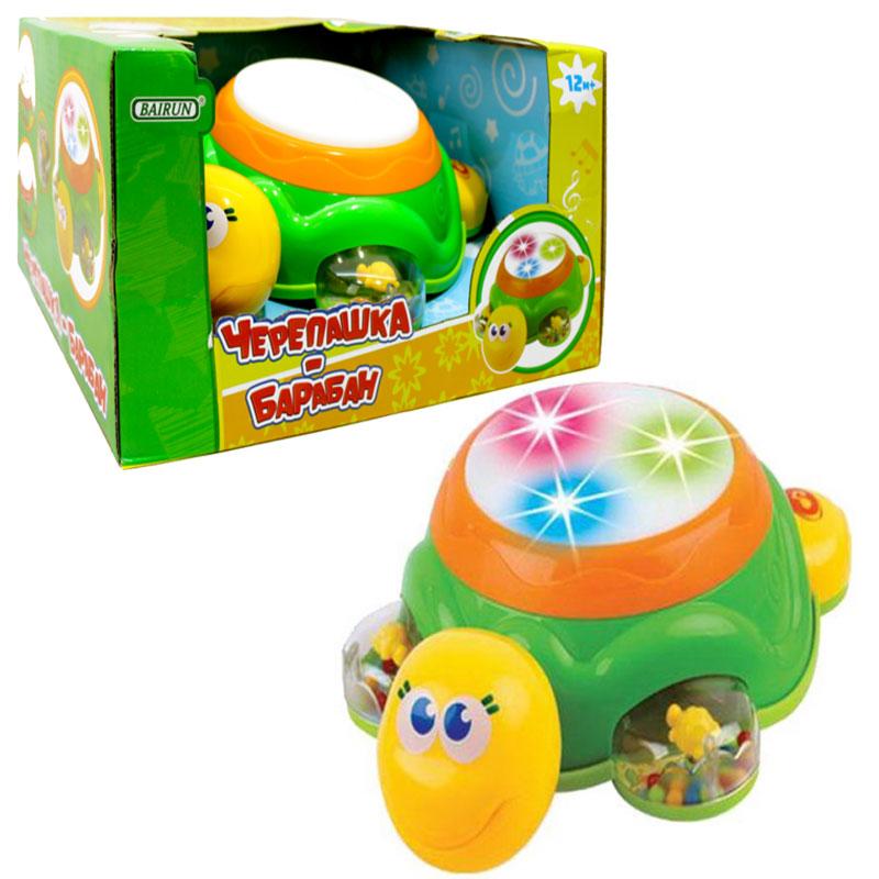 Черепашка-барабан - Интерактив для малышей, артикул: 166452