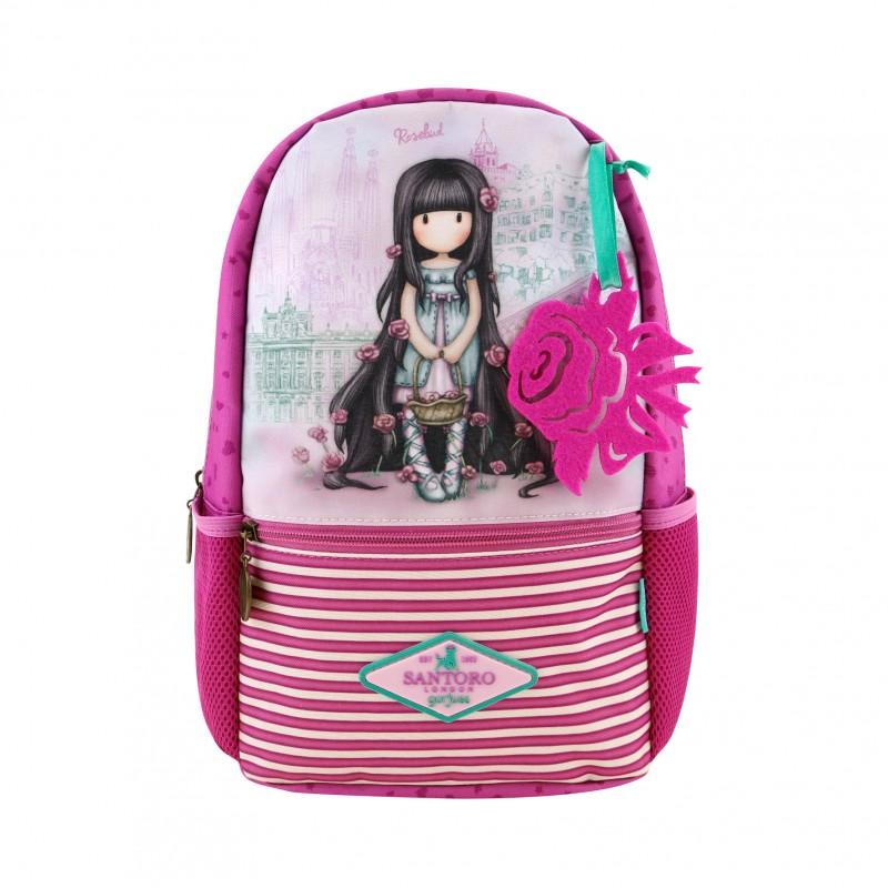 Купить Маленький рюкзак – Cityscape. Rosebud, Santoro London
