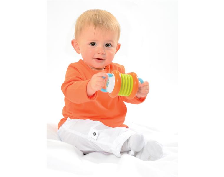 Инструмент музыкальный, 3 вида, Cotoons - Детские погремушки и подвесные игрушки на кроватку, артикул: 85128