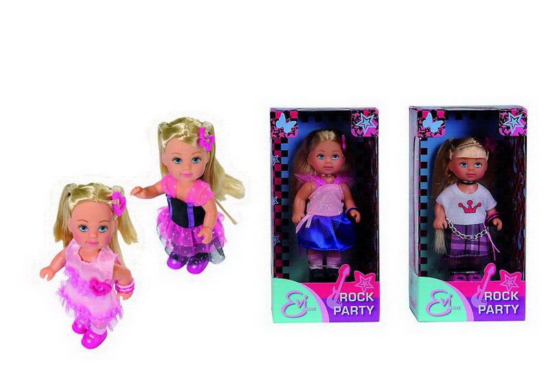 Кукла Еви с боа, 4 видаКуклы Еви<br>Кукла Еви с боа, 4 вида<br>