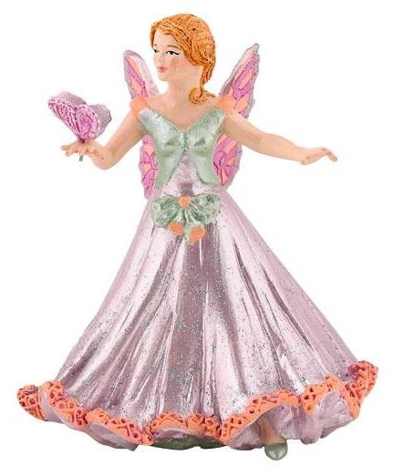 Фигурка Крылатая Эльф в розовом платьеФигурки Papo<br>Фигурка Крылатая Эльф в розовом платье<br>