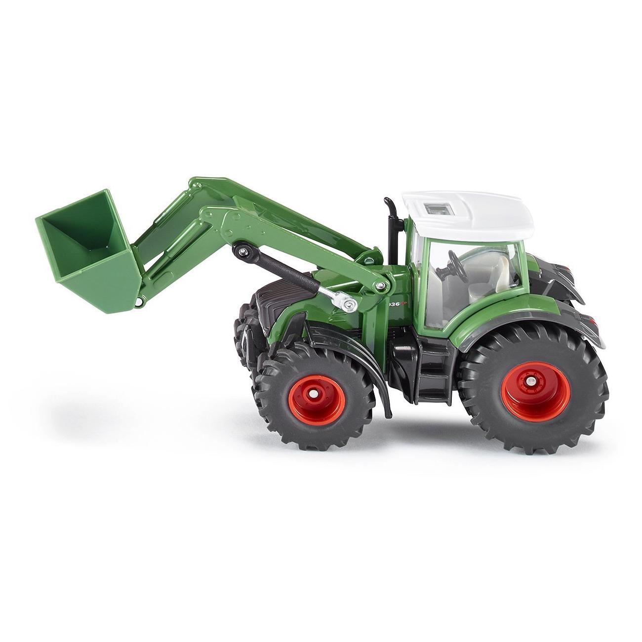 Купить Трактор Fendt 936 с ковшом, масштаб 1:50, Siku