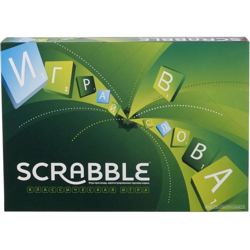 Игра настольная - Scrabble классический Mattel