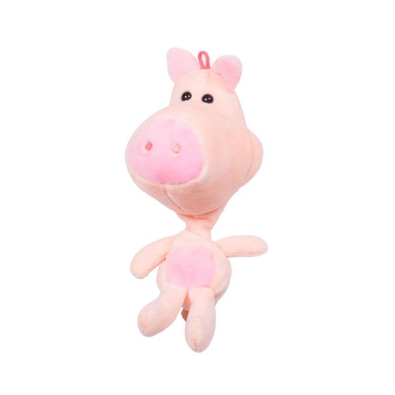 Купить Мягкая игрушка-подвеска - Свинка, 20 см, Button Blue