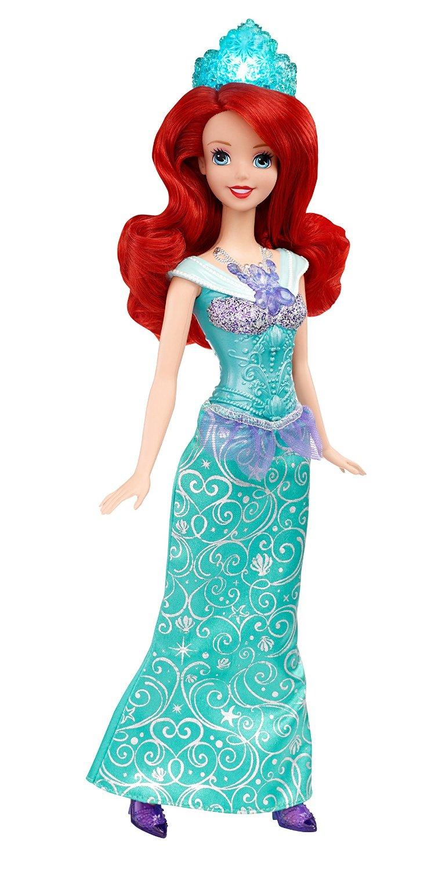 Кукла Ариэль, колье и корона светятся, 28 см.Ариэль<br>Кукла Ариэль, колье и корона светятся, 28 см.<br>