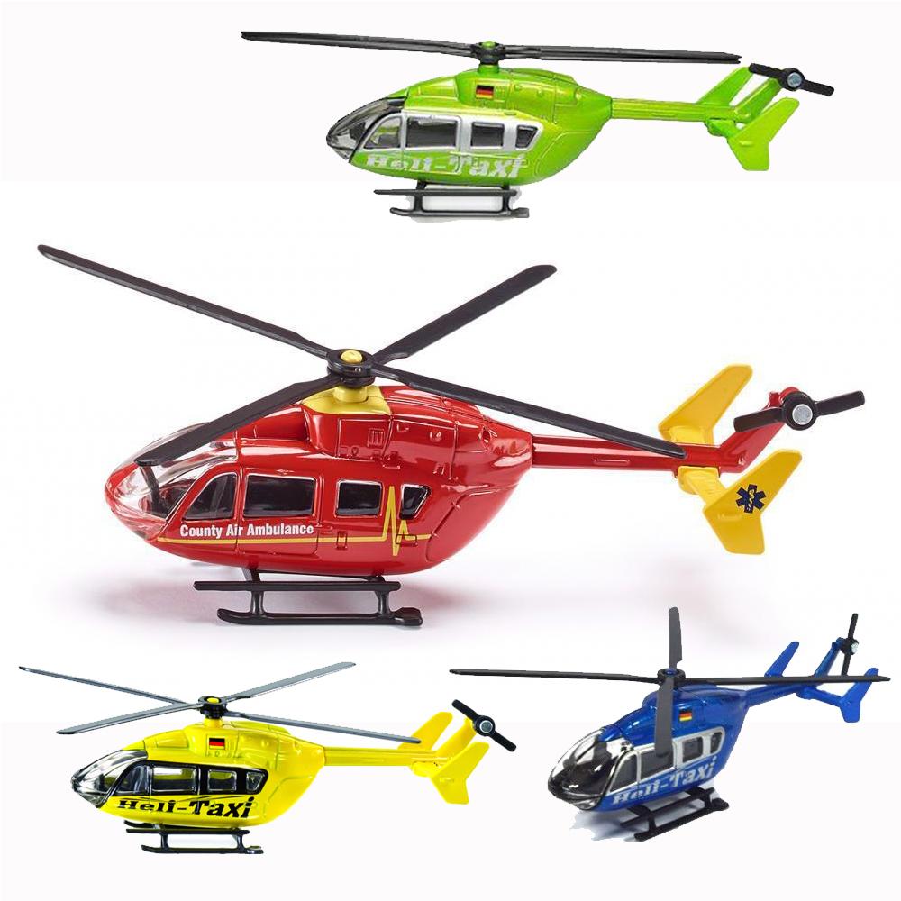 Купить Металлическая модель – Вертолет, масштаб 1/87, Siku