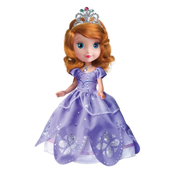 Кукла Карапуз Disney Принцесса – «София» с амулетомСофия Прекрасная<br>Кукла Карапуз Disney Принцесса – «София» с амулетом<br>