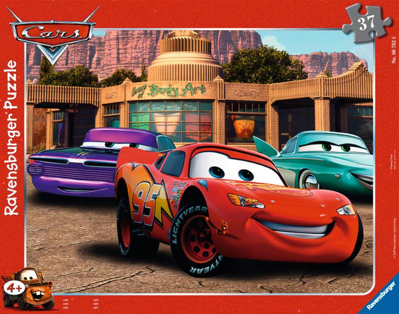 Паззл «Тачки: автомобильные друзья» 37 штПазлы DISNEY<br>Паззл «Тачки: автомобильные друзья» 37 шт<br>