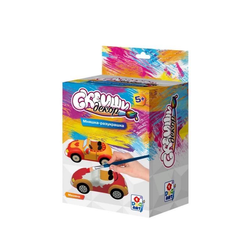 Купить Набор для детского творчества Сквиши декор - Машина, 1TOY