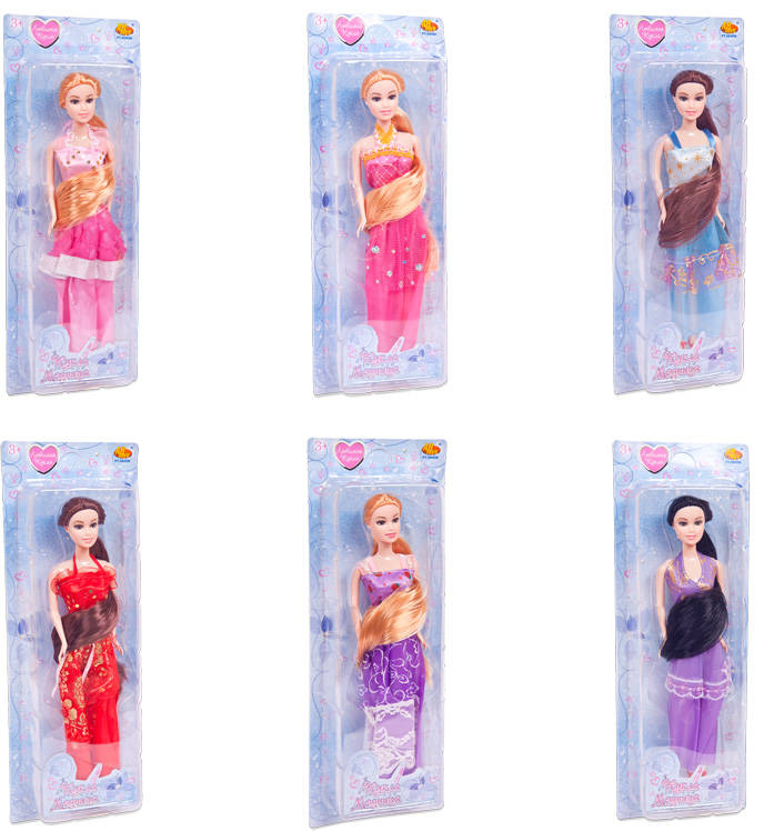 Кукла - Модница, 6 видовПупсы<br>Кукла - Модница, 6 видов<br>
