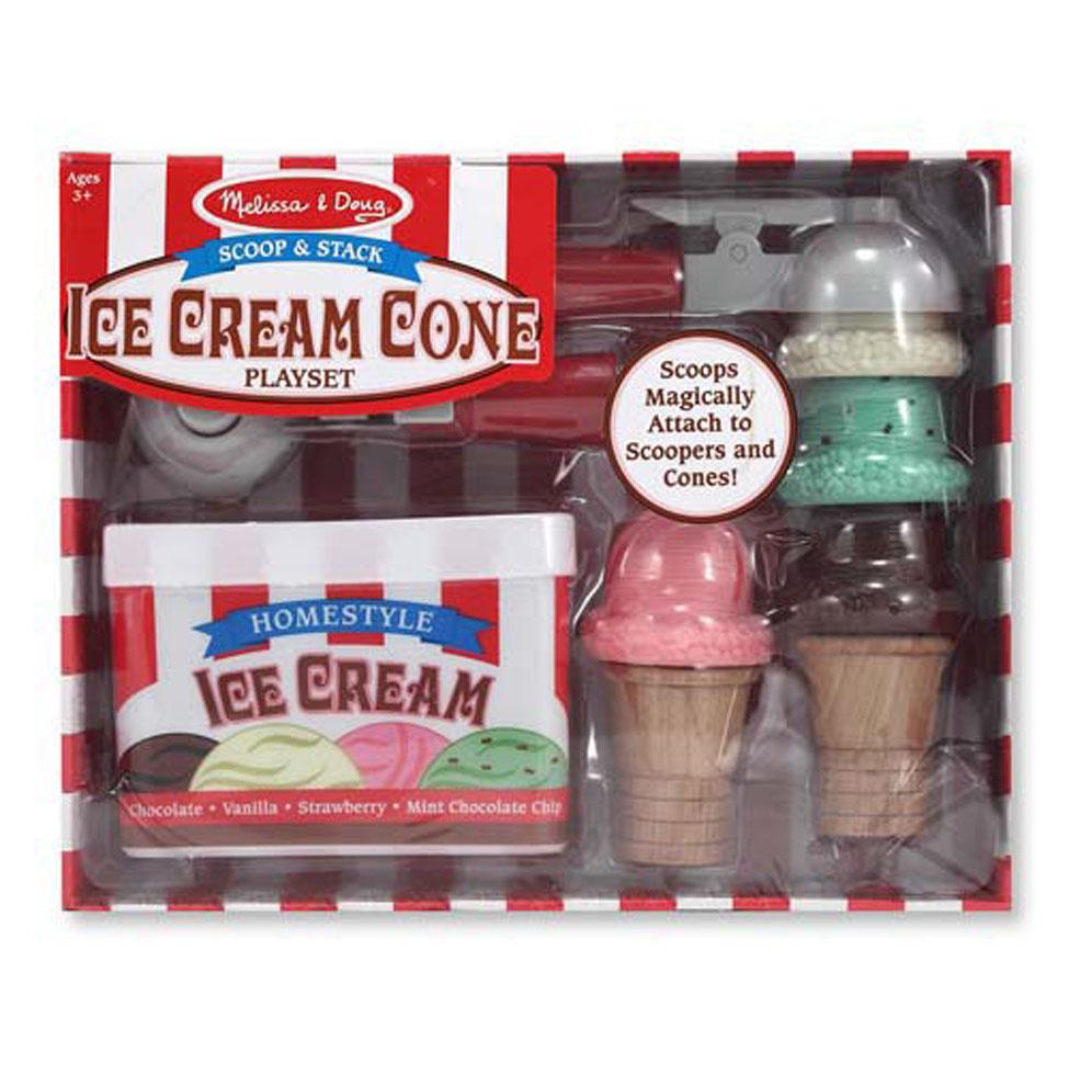Набор для приготовления мороженого - Готовь и играйАксессуары и техника для детской кухни<br>Набор для приготовления мороженого - Готовь и играй<br>