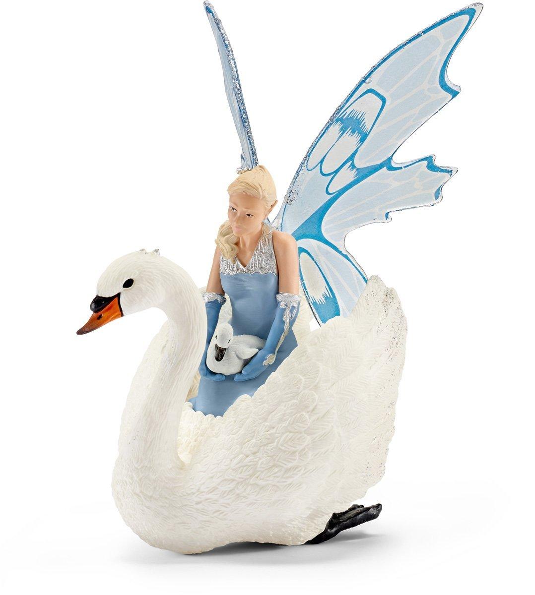 Купить Фигурка – Ларинья с лебедем, Schleich