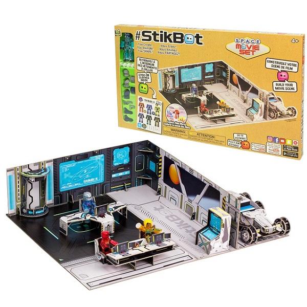 Игрушка Stikbot. Набор Космическая станция фото