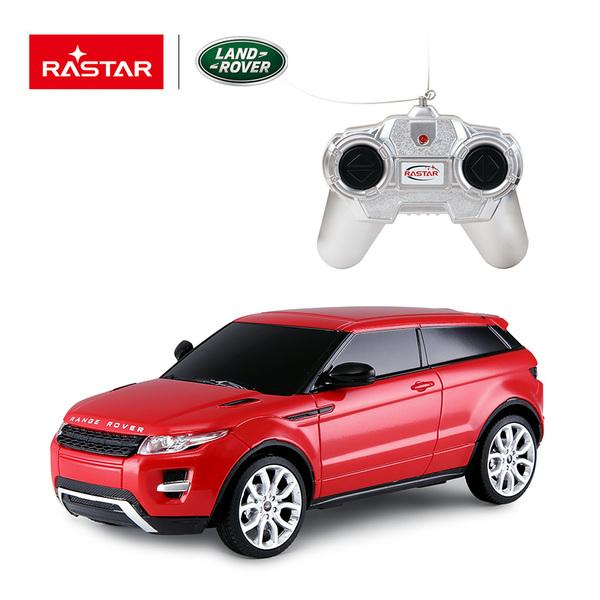 картинка Машина на радиоуправлении 1:24 Range Rover Evoque, цвет Красный от магазина Bebikam.ru