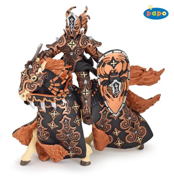 Воин черного жука и его лошадьФигурки Papo<br>Воин черного жука и его лошадь<br>