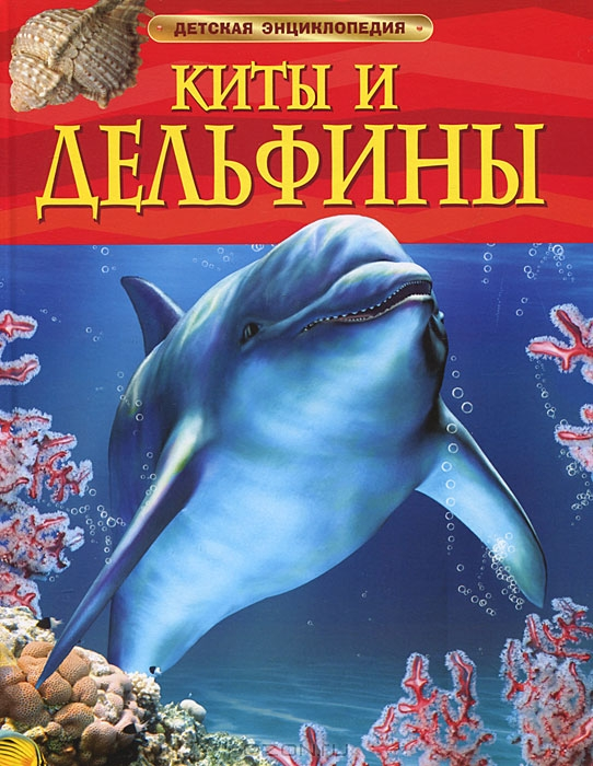 Киты и дельфины.  Детская энциклопедияДля детей старшего возраста<br>Киты и дельфины.  Детская энциклопедия<br>