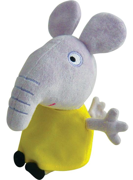Мягкая игрушка Слоник Эмили 20 смСвинка Пеппа (Peppa Pig )<br>Мягкая игрушка Слоник Эмили 20 см<br>