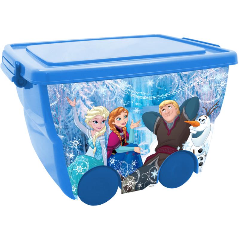 Ящик для игрушек из серии Disney – Холодное Сердце, 24 литраКорзины для игрушек<br>Ящик для игрушек из серии Disney – Холодное Сердце, 24 литра<br>