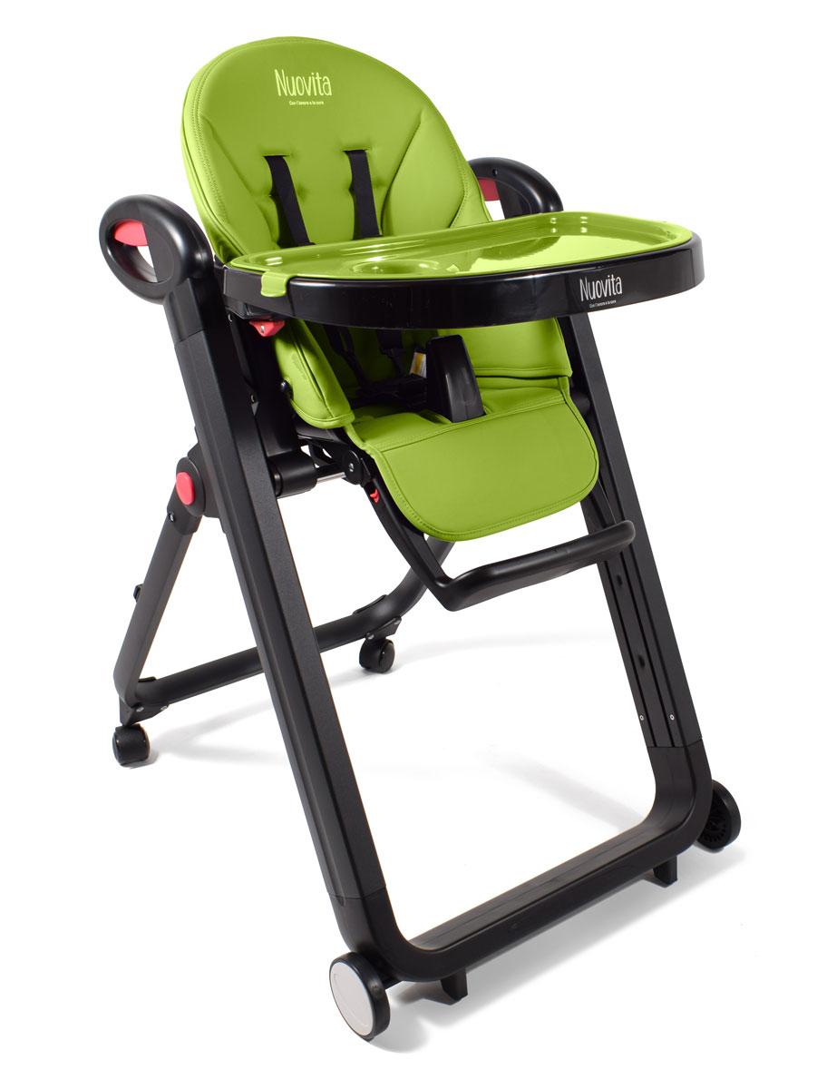 Стульчик для кормления - Futuro Nero, verdeСтульчики для кормления<br>Стульчик для кормления - Futuro Nero, verde<br>