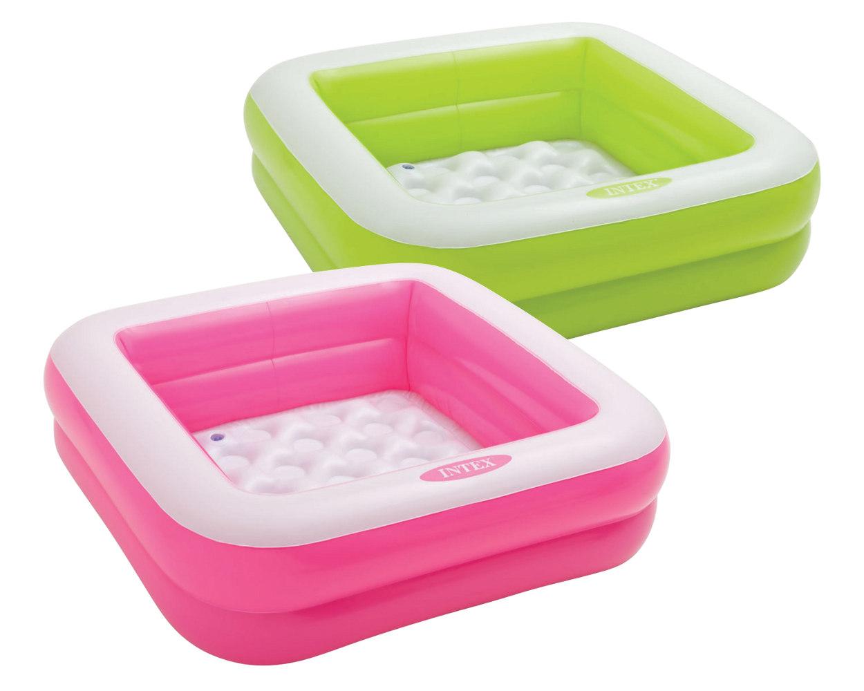 Intex Бассейн надувной квадратный - Play Box Pool
