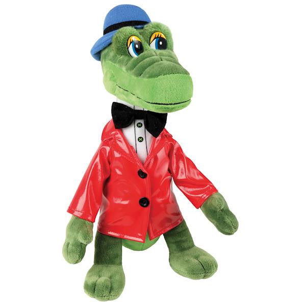 Озвученная мягкая игрушка - Крокодил Гена, 33 смИгрушки Союзмультфильм<br>Озвученная мягкая игрушка - Крокодил Гена, 33 см<br>