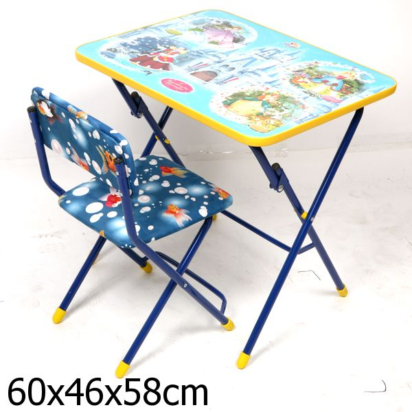 Набор детской мебели - Волшебный мир принцесс Ника