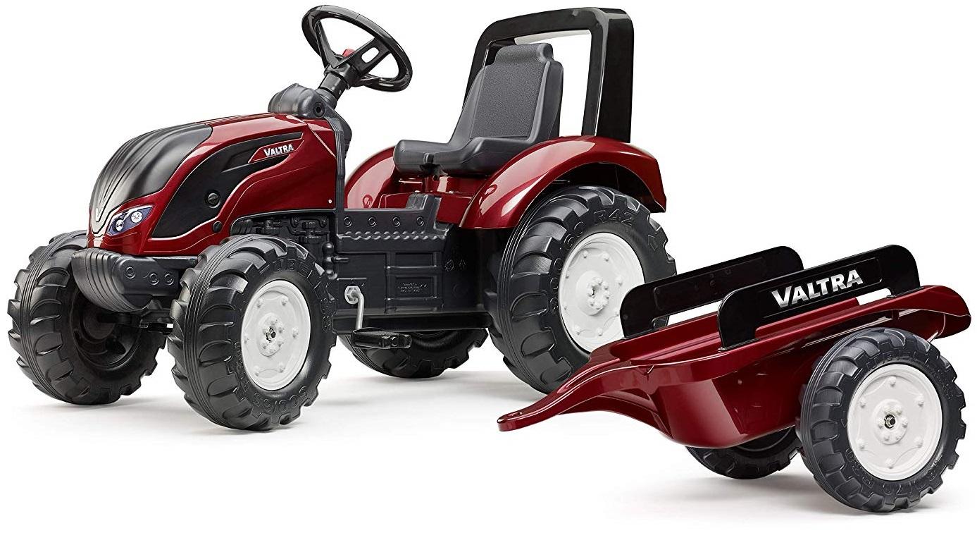 Трактор педальный с прицепом красный 162 см.