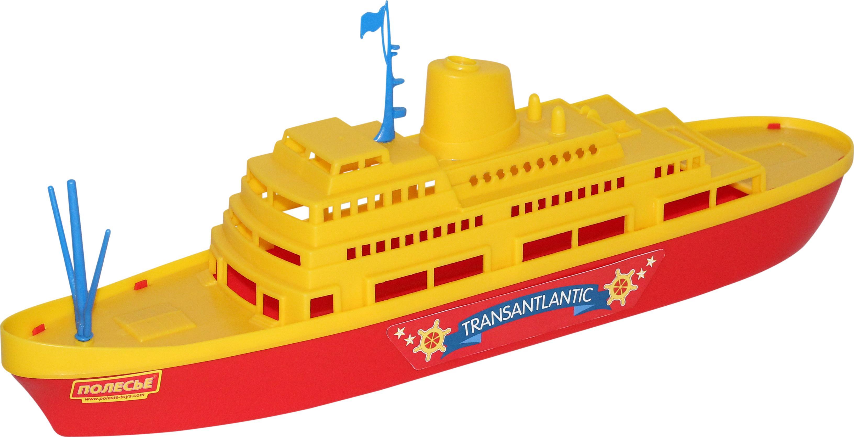 Корабль Трансатлантик, 46 см.Корабли и катера в ванну<br>Корабль Трансатлантик, 46 см.<br>