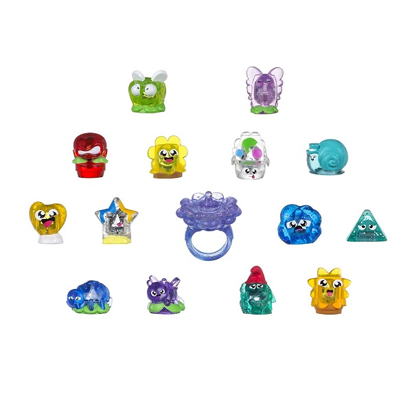 Игровой набор Hanazuki, 15 сокровищ с кольцомЮная модница, салон красоты<br>Игровой набор Hanazuki, 15 сокровищ с кольцом<br>