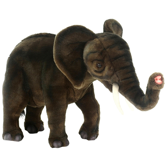 Мягкая игрушка - Слоненок, 42 см.Дикие животные<br>Мягкая игрушка - Слоненок, 42 см.<br>