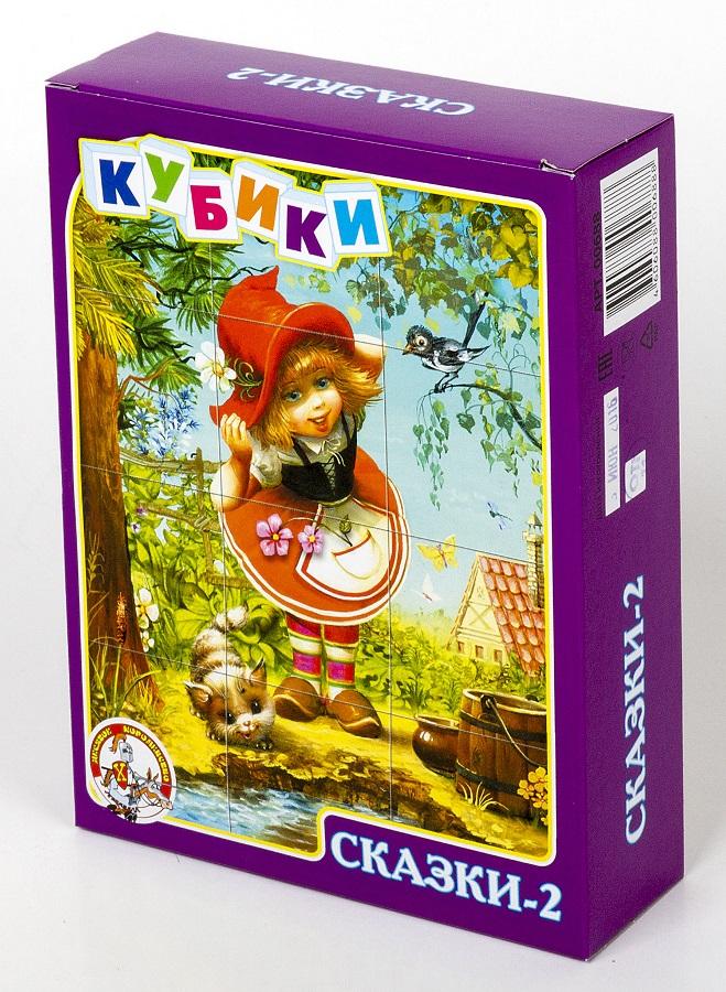 Кубики – Сказки-2, 12 штукКубики<br>Кубики – Сказки-2, 12 штук<br>