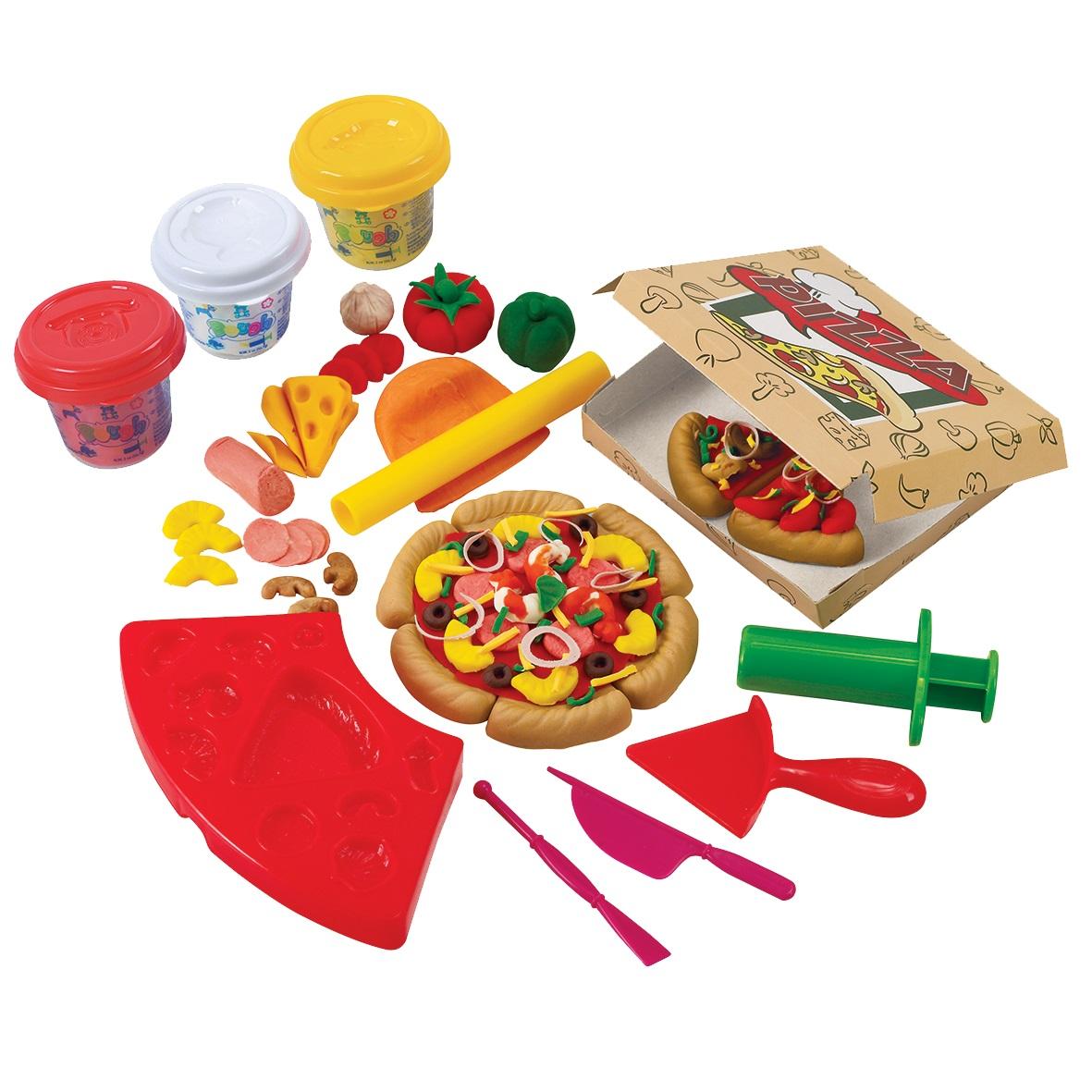 Набор с пластилином Пиццерия