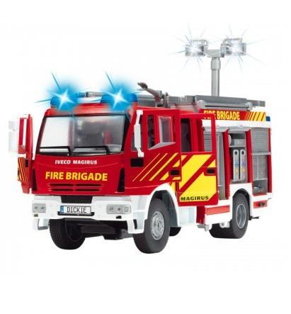 Машина пожарная со световыми и звуковыми эффектами - Пожарные машины, автобусы, вертолеты и др. техника, артикул: 97108
