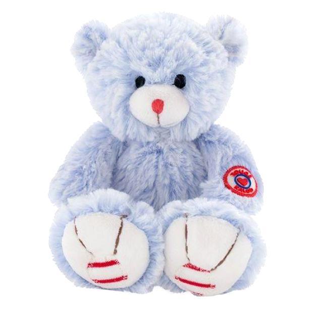 Купить Мягкая игрушка из серии Руж - Мишка маленький голубой, 19 см., Kaloo