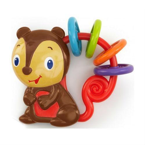 Bright Starts Развивающая игрушка-погремушка «Бельчонок»