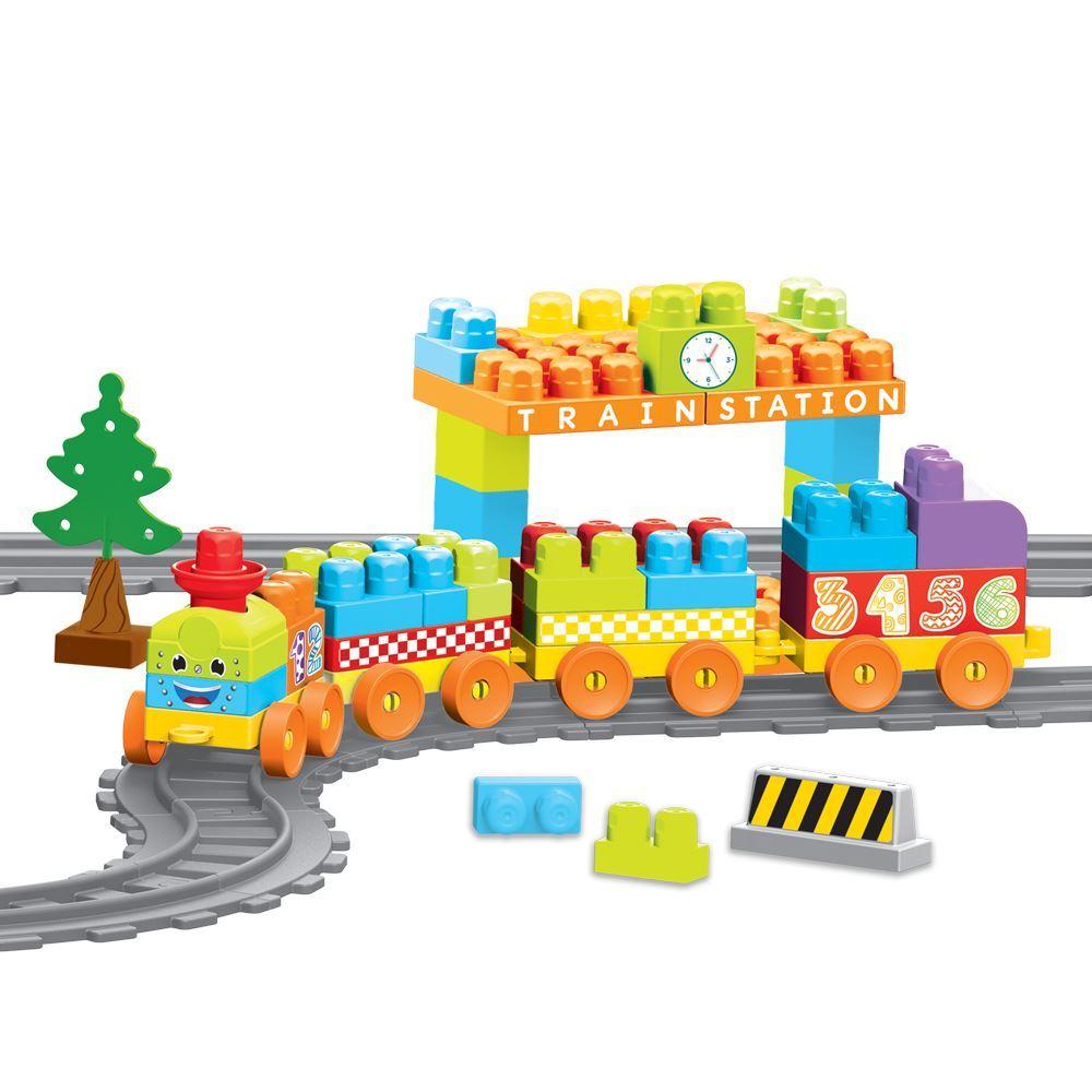 Купить Конструктор - Моя первая железная дорога, 85 элементов, 335 см, Dolu