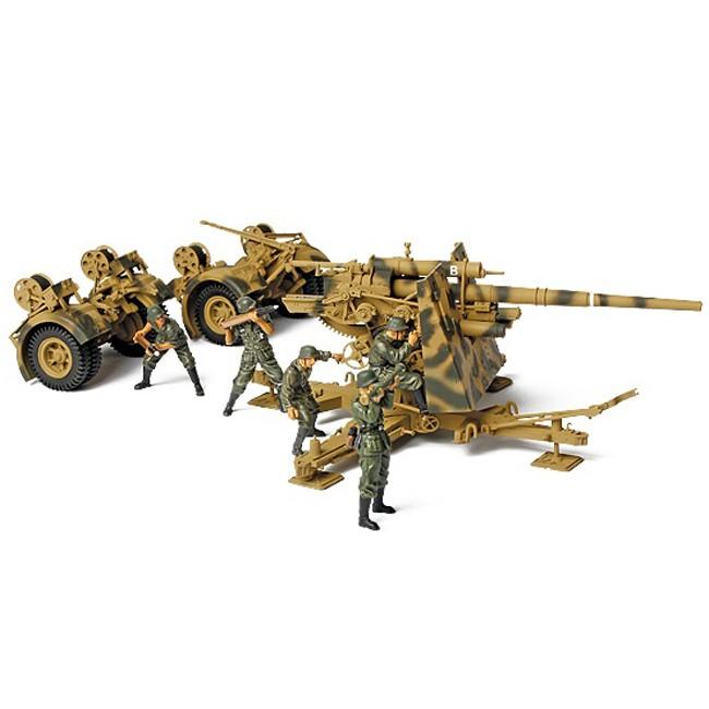 Коллекционная модель - Зенитное орудие 88 мм «Flak» 1943 года, Германия, 1:32Военная техника<br>Коллекционная модель - Зенитное орудие 88 мм «Flak» 1943 года, Германия, 1:32<br>