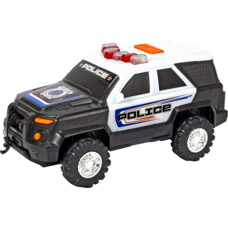 Полицейский внедорожник, 18 см, свет и звук по цене 999